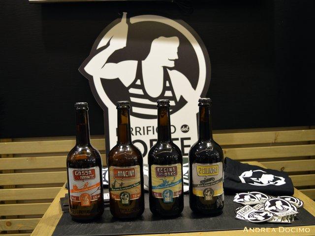 Gigione e Birrificio del Forte, le birre per la serata di Birrificio del Forte