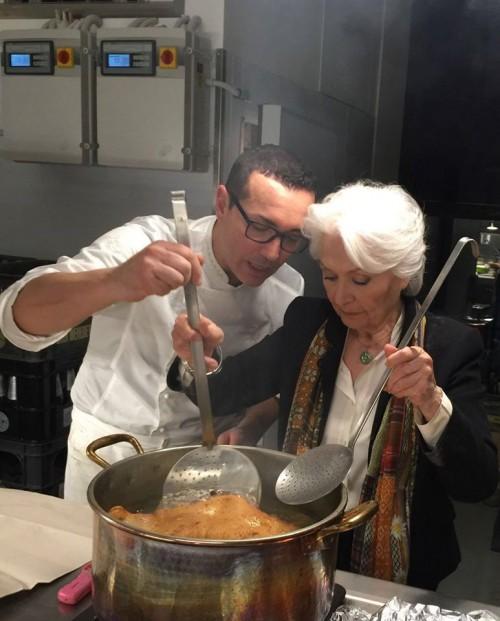 Gino Sorbillo con Clelia D'Onofrio