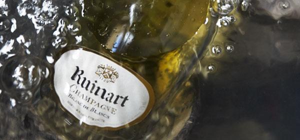 Identità di Champagne, Maison Ruinart Reims depuis 1729, Blanc des Blancs e Rosè, i protagonisti degli abbinamenti gastronomici