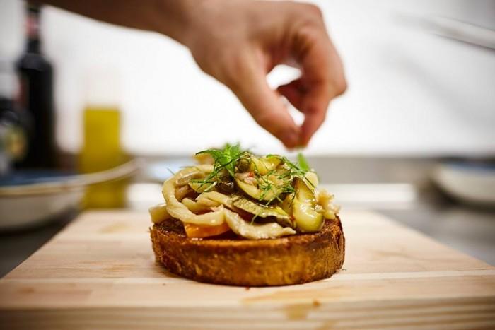 Il Protontino, crostoni di pane