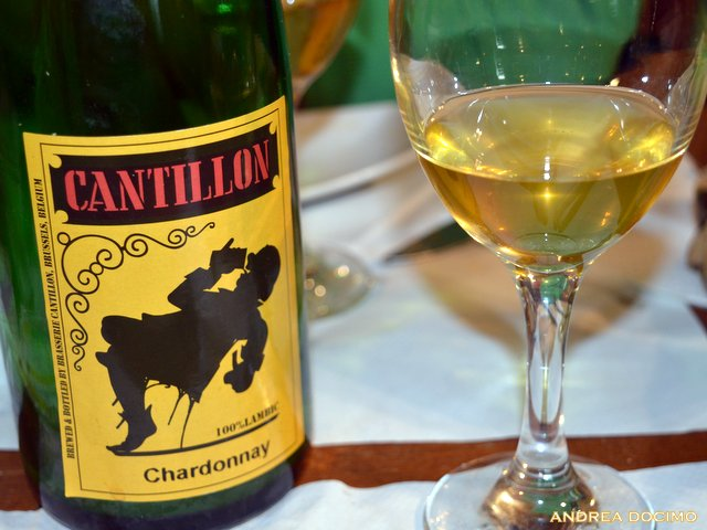 Jean Van Roy all' Ottavonano. La Cantillon Chardonnay
