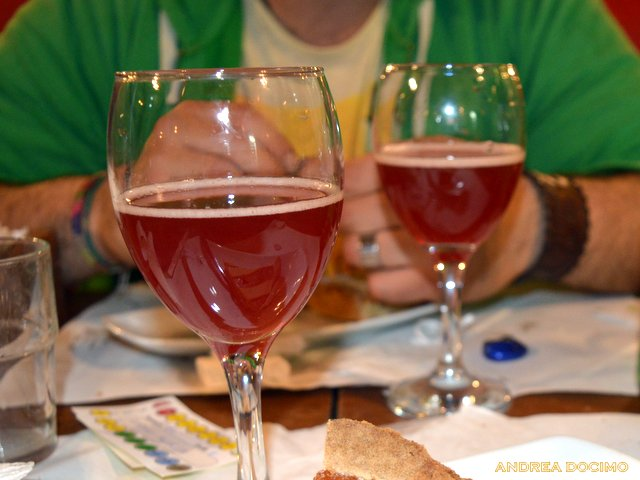 Jean Van Roy all' Ottavonano. La Kriek di Cantillon