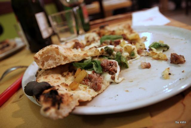 La Famiglia. Giovanni Russo. La Pizza salsiccia e patate