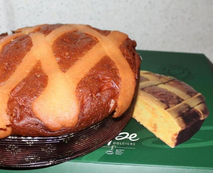 La pastiera lievitata della pasticceria Pepe