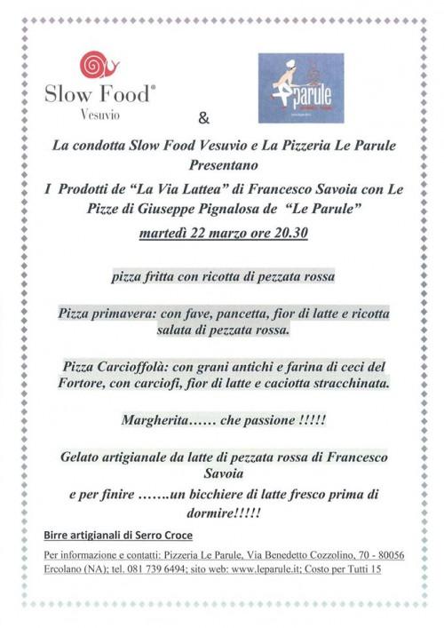 La via Lattea di Francesco Savoia e Giuseppe Pignalosa a Le Parùle