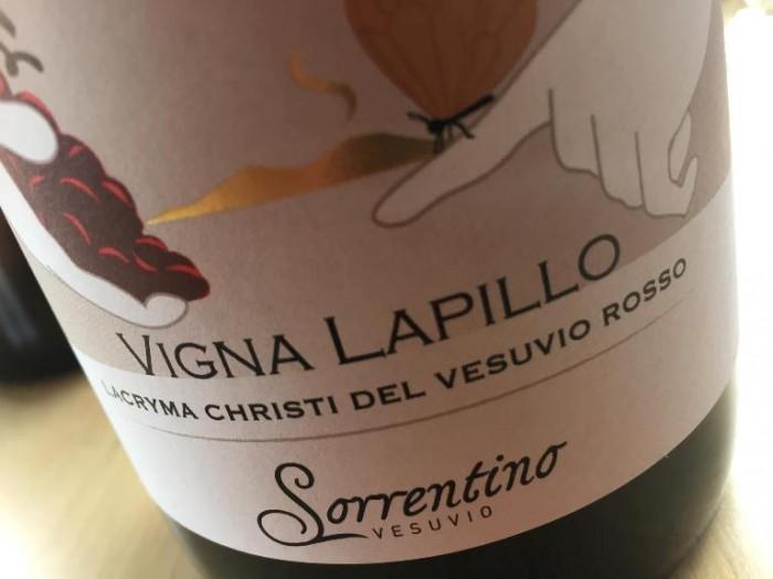 """Lacryma Christi Rosso """"Vigna Lapillo"""" 2013 Sorrentino"""