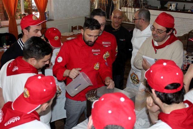 Marco Quintili e Lorenzo Amati con gli allievi durante le lezioni