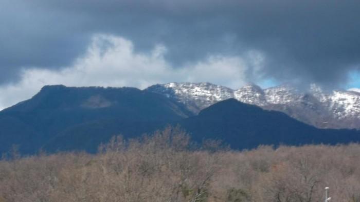 Monte Gelbison visto da Torre Orsaia