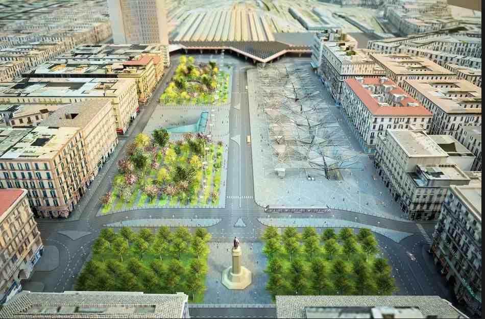 Napoli Piazza Garibaldi- come sarà