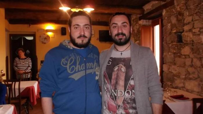 Osteria Tancredi, i fratelli Giuseppe ed Angelo