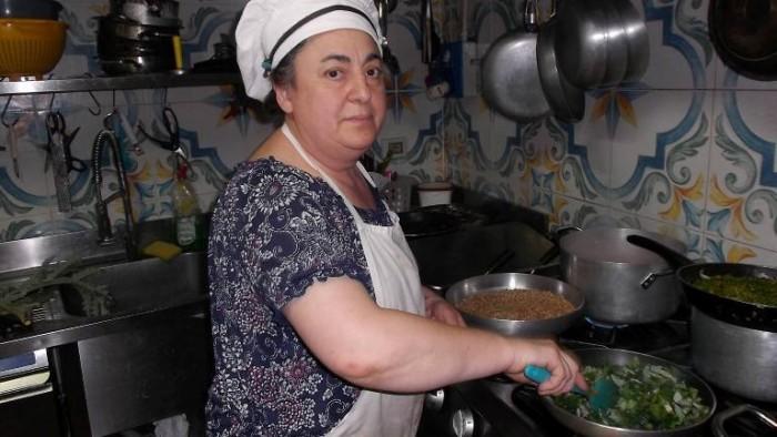 Osteria Tancredi, mamma Adriana