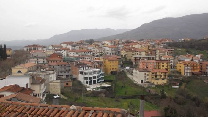 Osteria Tancredi, panorama di Caselle in Pittari