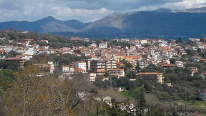 Panorama di Torre Orsaia