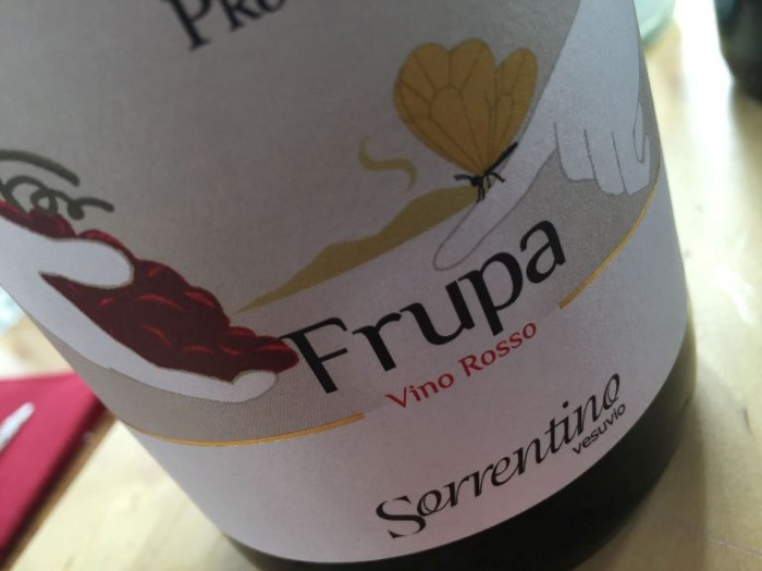 "Piedirosso ""Frupa"" 2011 Sorrentino"