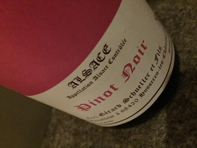 Pinot Nero alsaziano 2008