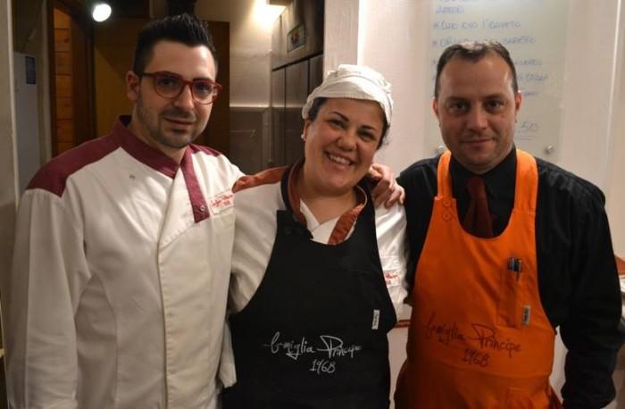 Pizza & Fritti, Antonio Faiella Lorenzo Principe e Alfonso