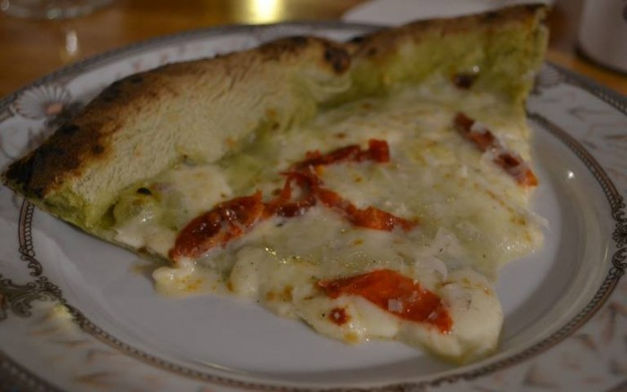 Pizza & Fritti, la pizza mallone