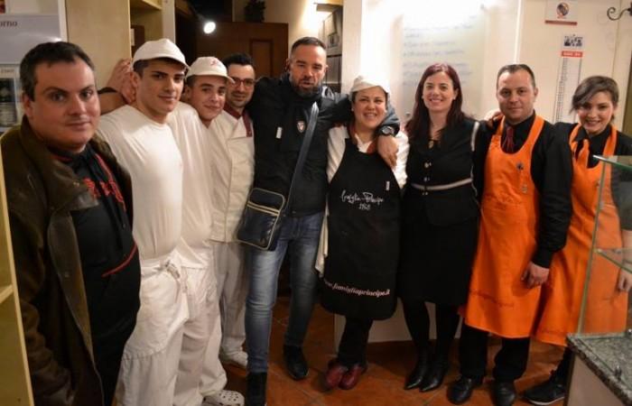 Pizza & Fritti, ospiti e staff