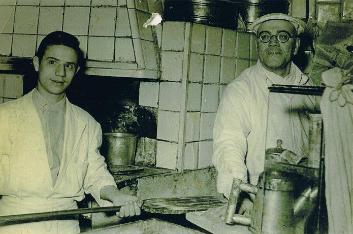 Pizzeria Lombardi, una foto storica
