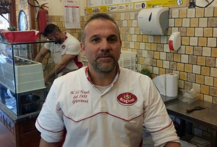 Pizzeria al 22, Giovanni Improta