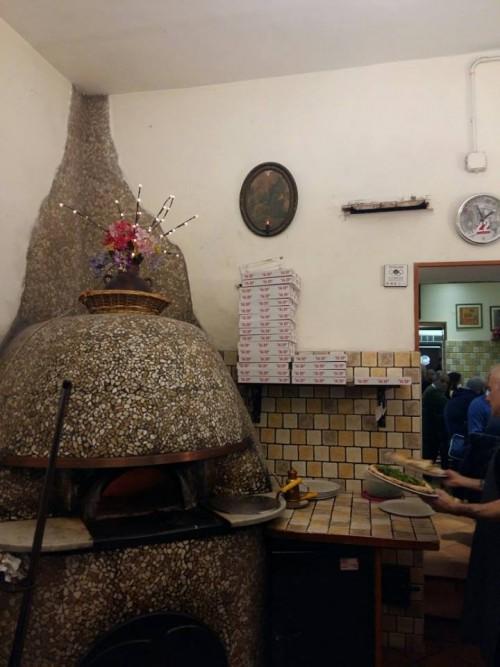 Pizzeria al 22, il forno