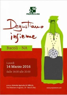 Presentazione del catalogo 2016 di Proposta Vini a La Sibilla