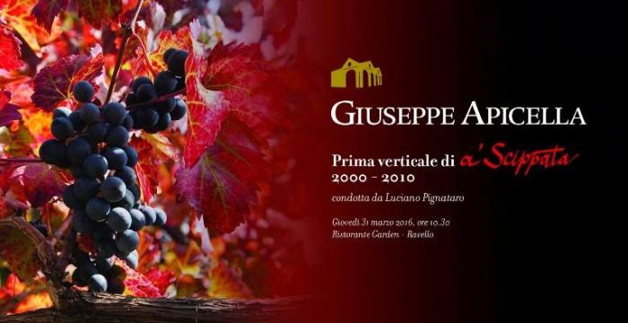 Prima verticale di a' Scippata 2000-2010 di Giuseppe Apicella a Ravello