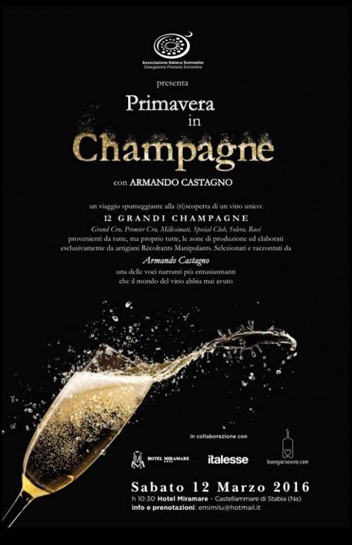 PrimaVera in Champagne con Armando Castagno