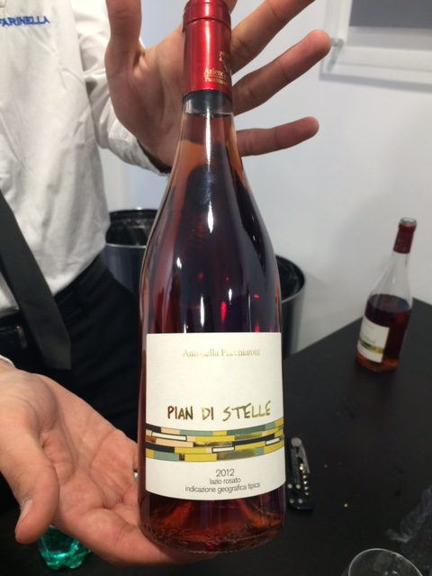 Ricetta di Donna, l'Aleatico rosé di Antonella Pacchiarotti