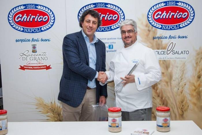 Scuola Dolce e Salato Michele Sparono e Mario Palma