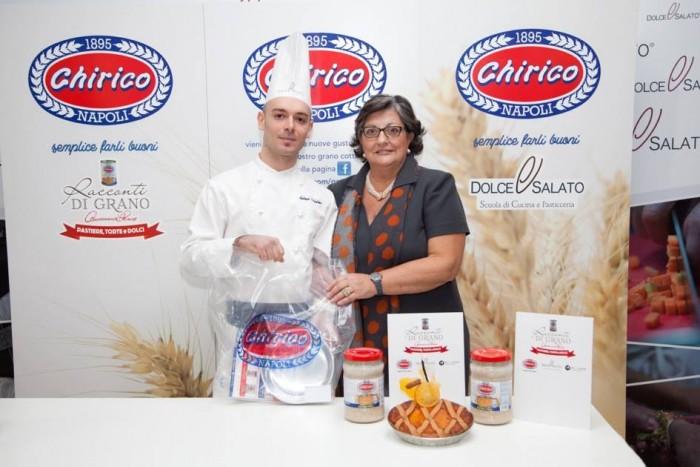Scuola Dolce e Salato. Antonio Celentano e la signora  Chirico
