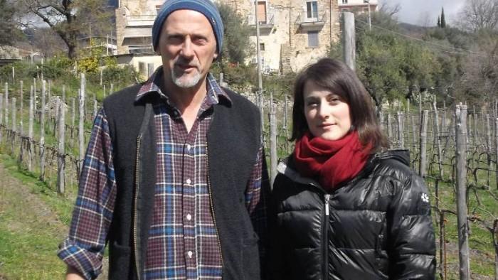 Silvaplantarium,  Mario Donnabella e la figlia Luana