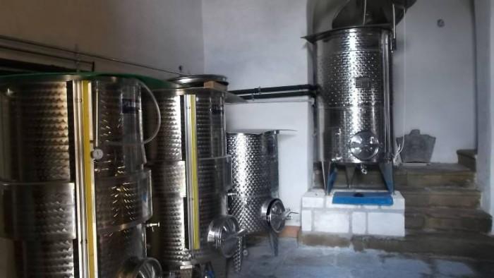 Silvaplantarium, silos di acciaio