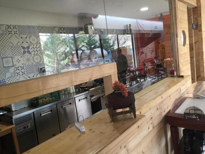 Sorrentino, la sala degustazione