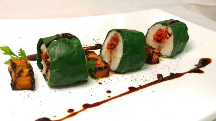 Sorso 23, il sushi di baccalà