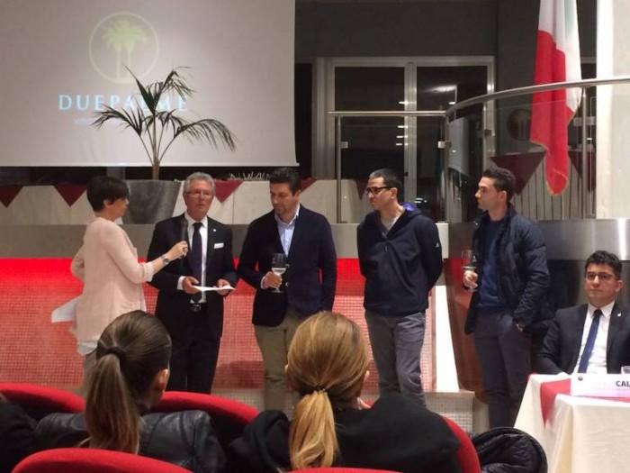 Spumante Amaluna, presentazione con Angelo Maci e il suo team di enologi