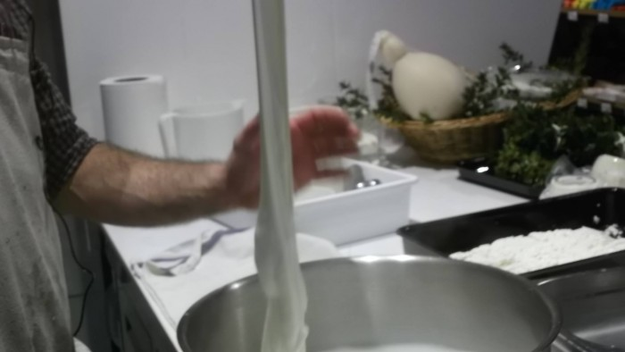 Storie di Pane, formaggio a pasta filata