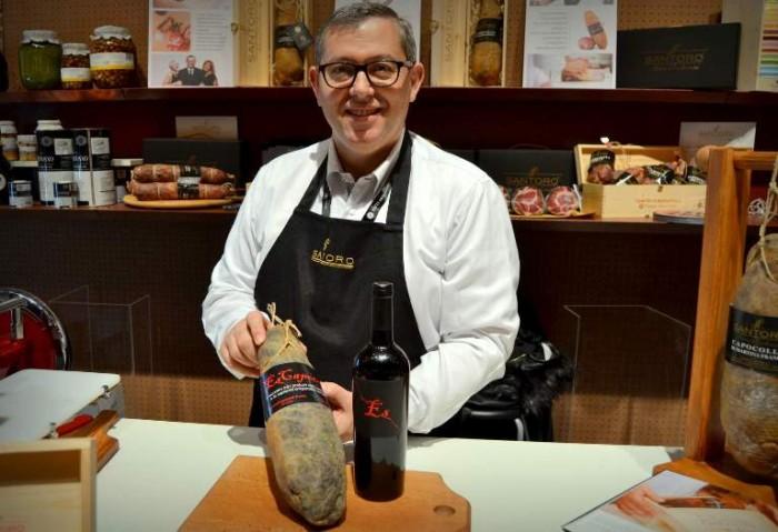 Taste, Giuseppe Santoro con il suo Es-Capocollo