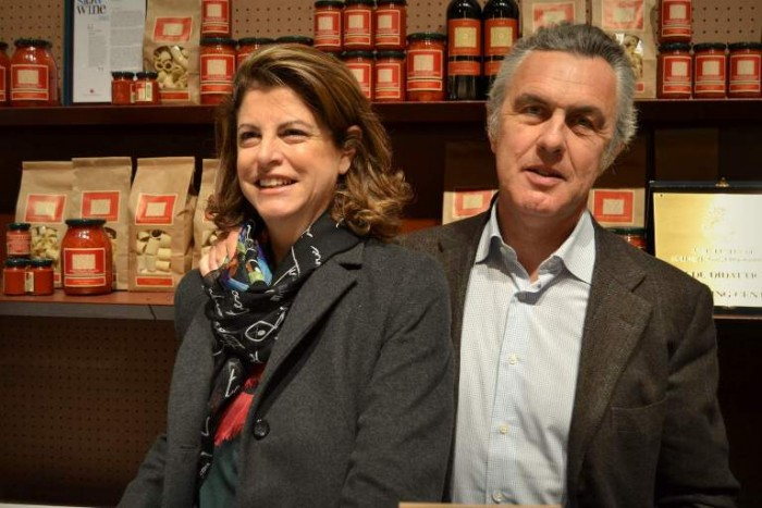 Taste, Paolo Petrilli assieme a sua moglie