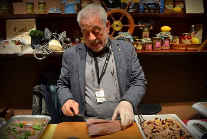 Taste, la postazione  dell'Azienda Colimena di Avetrana (Ta)