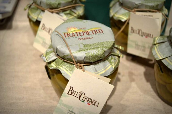 Taste, le olive Bella di Cerignola prodotte della Azienda Agricola Fratepiero di Cerignola (Fg)