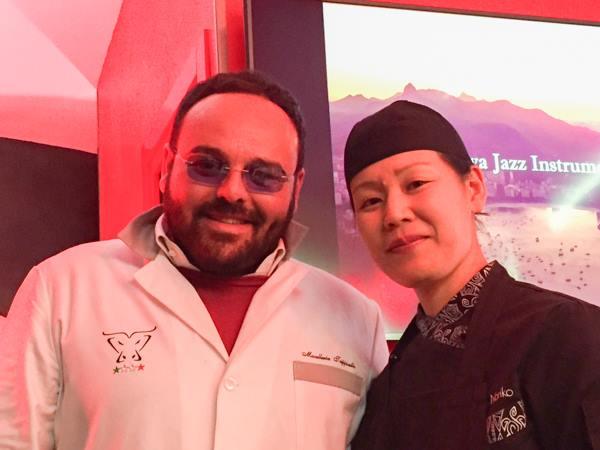 Trippicella, Antonio Di Sieno e la chef giapponese