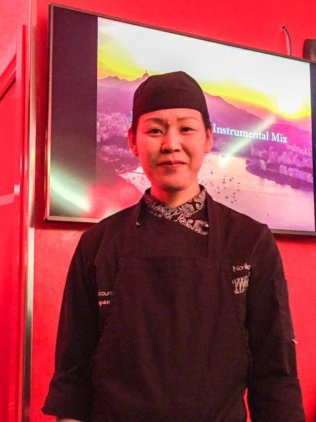 Trippicella, la chef giapponese