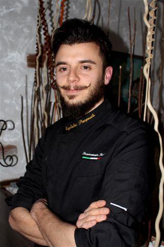 Uno dei giovani allievi Pasquale Manuel Guglielmi