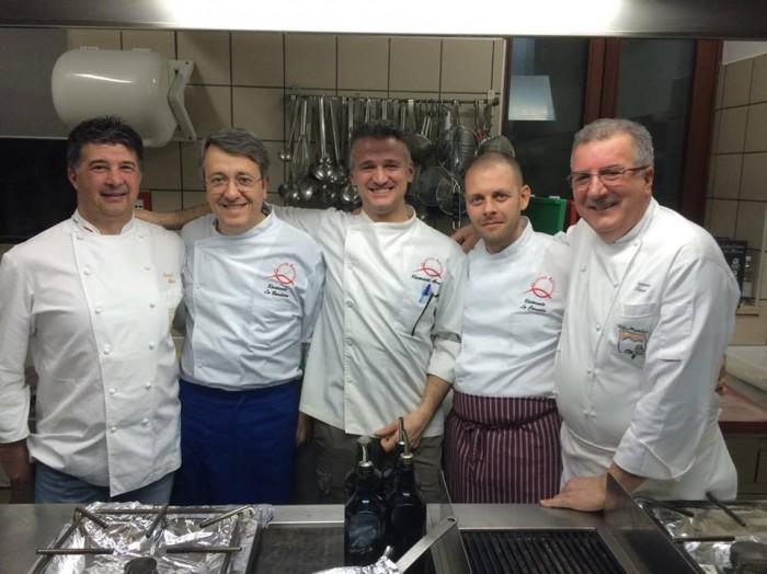 Vette & Forchette, gli chef in cucina - foto di Ivan di Marco