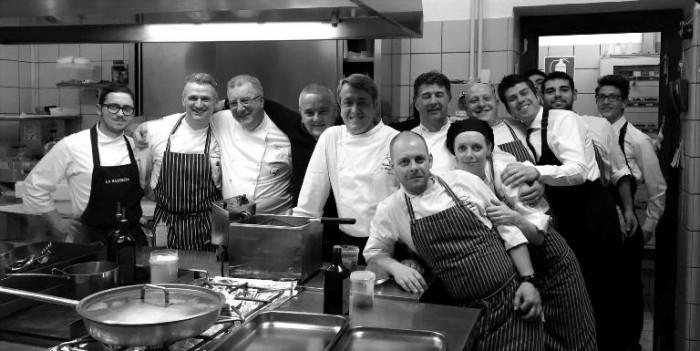 Vette & Forchette, lo staff della corniola e gli chef