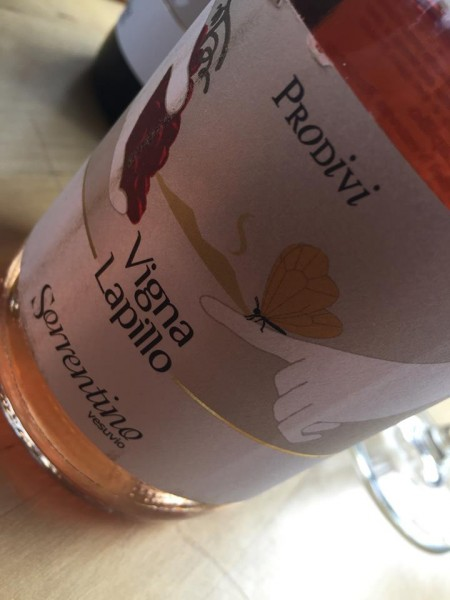 Vigna Lapillo rosato 2014 Sorrentino