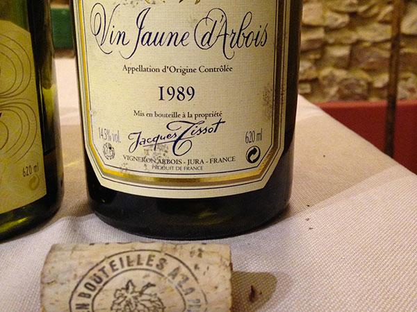 Vin Jaune d'Arbois 1989 Jacques Tissot