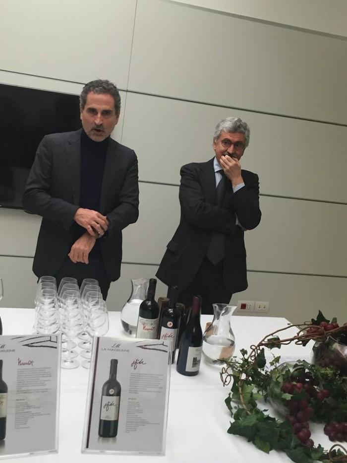 Michele Laforgia e Massimo D'Alema