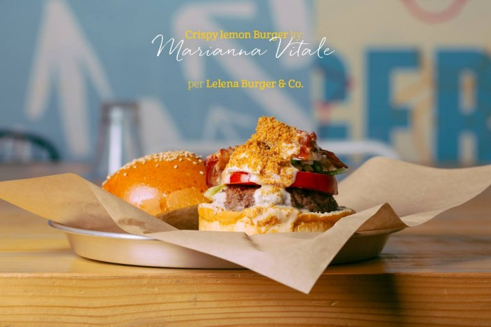 il Crispy Lemon di Marianna Vitale da Lelena Burger